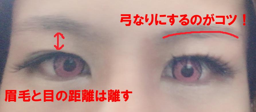 眉毛を整えるポイント