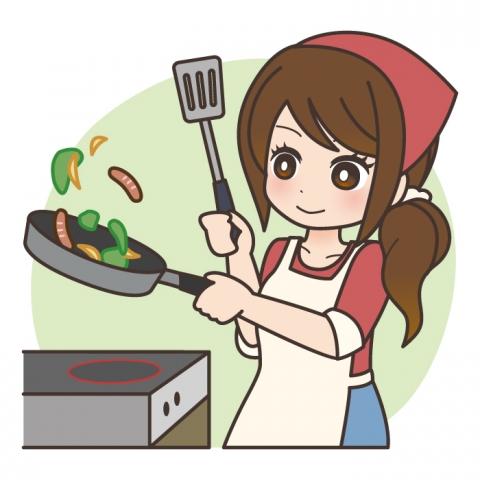 特徴3【料理に凝る】