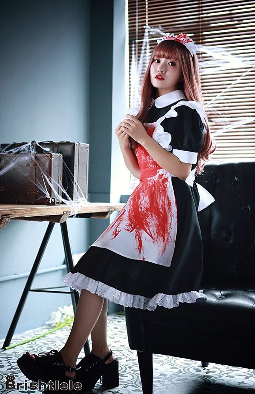 血糊メイド服